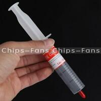 30g Grey Thermal Grease Paste Compound Silicone For CPU Heatsink Heat Sink Tube