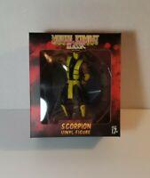 Mortal Kombat Klassic Scorpion Vinyl Figure Culturefly (FACTORY SEALED)
