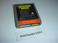 WIZARD OF WOR game cartridge only for ATARI 2600 system