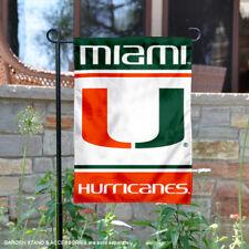 University of Miami Garden Flag and Yard Banner