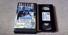 TO THE DEVIL A DAUGHTER WARNER UK PAL VHS VIDEO 1988 Hammer Christopher Lee