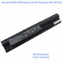 Genuine FP06 Battery for HP Probook 440 450 445 470 455 G0 G1 708457-001 FP09