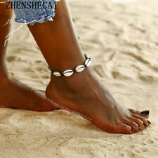 a7e245197 Anklets Women Shell Foot Jewelry Summer Beach Barefoot Bracelet Accessories