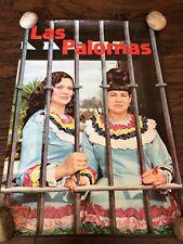 "LAS PALOMAS POSTER CBS RECORDS 16"" X 24"" TEJANO VINTAGE"
