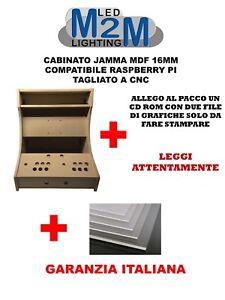 Arcade Bartop Kit 24 Pollici raspberry pi jamma cabinet virtual pinball