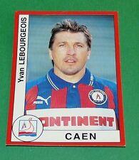 N°84 BOURGEOIS STADE MALHERBE CAEN PANINI FOOT 95 FOOTBALL SAISON 1994-95