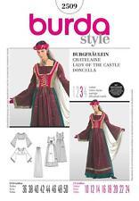 BURDA Gabarits de couture FEMMES fée robe costume déguisement Sizes 10 - 20 2509