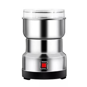 Electric Coffee Grinder Kitchen Nut Beans Grind Spice Crusher Blender Home US