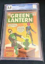 Green Lantern #9 1961 CGC 3.5 Last 10c Issue 1st Jordan brothers Sinestro cover