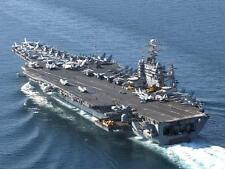 USS THEODORE ROOSEVELT 8X10 PHOTO CVN-71 NAVY US USA MILITARY SHIP AIRCRAFT CARR