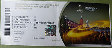 Collectors TICKET Uefa EL 16/17 Final Ajax Amsterdam v Manchester United Stockholm