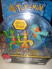 Pokemon Action Figures 3-pack 6 cm Grovyle Combusken Marshtomp ( Tomy )