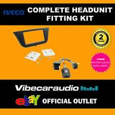 Connects2 CTKIV01 Iveco Daily 2014 > Double Din Stereo Fascia Stalk Fitting Kit