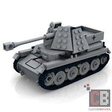 CUSTOM PDF Instructions WW2 WWII Anti tank MARDER III for LEGO® Bricks