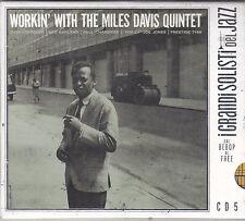 MILES DAVIS - workin' with the miles davis quintet CD