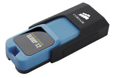 64GB Corsair Flash Voyager Slider X2 USB 3.0 Flash Drive - Black/Blue