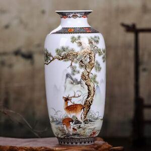 New Jingdezhen Ceramic Vase Traditional Vases Home Decoration Animal