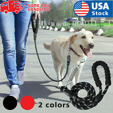 Retractable nylon rope Dog Leash for large dog Heavy duty coupler