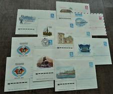 10x Lot Russland UdSSR  Ganzsachen  Briefe