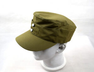 WWII German Afrika Korps Field Cap Hat 57 58 59 60cm Replica