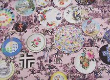 Designers Guild Curtain Fabric Folie Myrtille 0.8 Metres 80cm X 100cm Lacroix