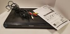 Panasonic DMP-BD605 Blu-Ray Player With Power Cable and AV input cable No Remote