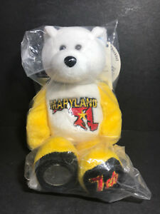 NEW Limited Treasures MARYLAND State Quarter Coin Bear w/Tags RETIRED 2001 L@@K