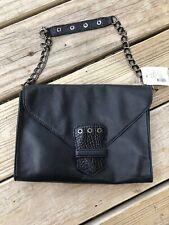 Longchamp Kate Moss Handbag Purse Satchel Navy /Croc Leather NWTD