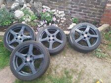 "17"" Renault Clio, BMW Mini Cooper Alloy Wheels and Tyres 215 40 17"