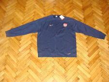 Arsenal Soccer Sweat Top England Nike Football Sweatshirt Navy Gunners NEW XL