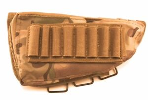 Acme Approved Rifle Buttstock Cheek Rest Ammo Pouch - Multicam