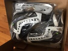 Reebok White K Pump Ice Hockey Skates 9.5EE to Suit Shoe Size 11 Us