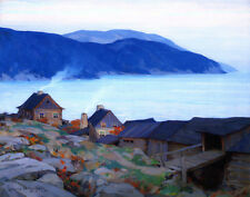 Gagnon Clarence Evening On The North Shore Canvas 16 x 20  #3288