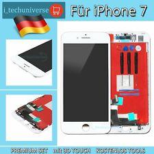 """LCD DISPLAY für iPHONE 7 4.7"""" RETINA GLAS HD 3D KOMPLETT VORMONTIERT Weiß WHITE"""