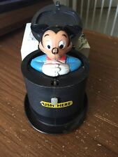 New listing Vintage Disney Pop Pal Pop Up Mickey Mouse Toy by Kohner Bros