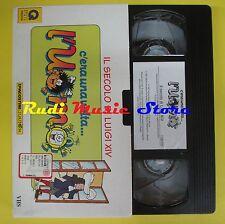 film VHS C'ERA UNA VOLTA L'UOMO Il secolo di luigi XIV 1997 (F44) no dvd