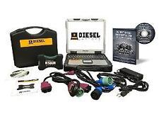 Detroit Diesel Diagnostic Link Laptop Scanner Tool Panasonic CF30 Toughbook