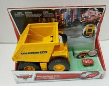 New Rare Colossus XXL Disney Pixar Cars Micro Drifters Dump Truck Mattel 2012 4+