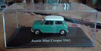 """DIE CAST """" AUSTIN MINI COOPER - 1961 """" SCALA 1/43 ATLAS EDITION"""