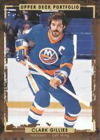 2015-16 Upper Deck Portfolio Hockey #183 Clark Gillies New York Islanders