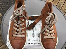 Paul Green Tan Leather Sneakers Size 4.5