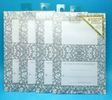 24 Wedding Invitations Reception & Reply Cards w Envelopes 4 PacksX 6each
