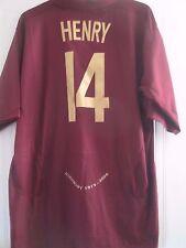 Arsenal 2005-2006 Henry Highbury Redcurrant Football Shirt 3xl Trikot /40985