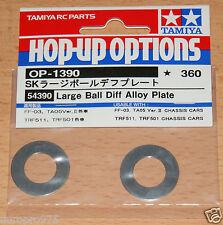 Tamiya 54390 Gran Bola Diff Aleación Placa DB01/FF03/TA05V.2/TRF416/TRF501x/TRF201