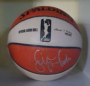 SUE BIRD SIGNED 2014 SEATTLE STORM OFFICIAL WNBA GAME USED BASKETBALL SPALDING