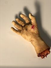 Halloween Gory Chop Shop Cut Off Hand Nasty Life size Prop Decoration