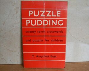 Puzzle Pudding for School Children - 27 Crosswords and Puzzles for Children