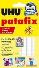 UHU patafix Klebepads weiß 80 Stück 48810 wieder ablösbar