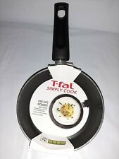T-fal Simply Cook Aluminum Nonstick One Egg Wonder Fry Pan Cookware 4 3/4""