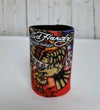New Ed Hardy Born Free Can Cooler Beverage/Neoprene Koozie